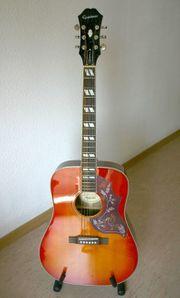 Epiphone Hummingbird Pro Akustikgitarre neuwertig