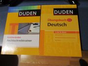 DUDEN Übungsbücher Lernbücher zu verkaufen