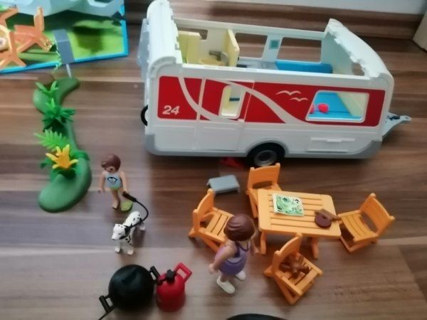Playmobil Wohnmobilanhänger