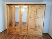 Schlafzimmer Kleiderschrank Vollholz