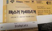 4x Iron Maiden in Stuttgart