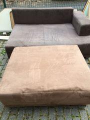 Verschenke Couch ausziehbar als Schlafmöglichkeit