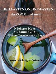 Online-Fasten via ZOOM Heilfasten und