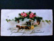 Alte mini Postkarte