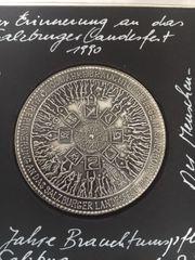 Gedenkmünze Salzburger Landesfest 1990