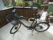 City-E-Bike Damen - Fahrrad mit Kettengangschaltung