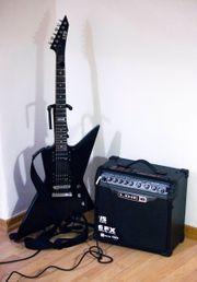 E Gitarre Set ESP LTD