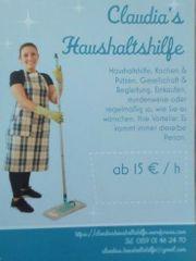sucht Arbeit als Reinigungskraft Haushilfe