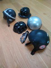 5 Motorradhelme Brille