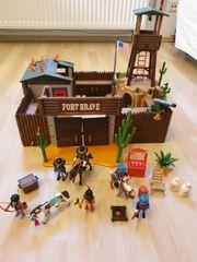 Playmobil großes Western Fort 5245
