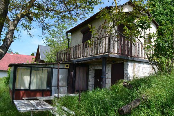Haus in Ungarn Panorama auf