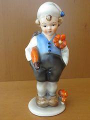 Super niedliche antike Porzellan Figur