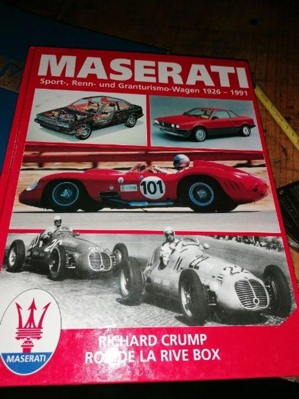 maseratibuch 1926 1991