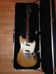 alte fender Mustang Gitarre