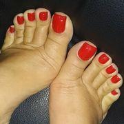 Füße einer Dame bzw Frau