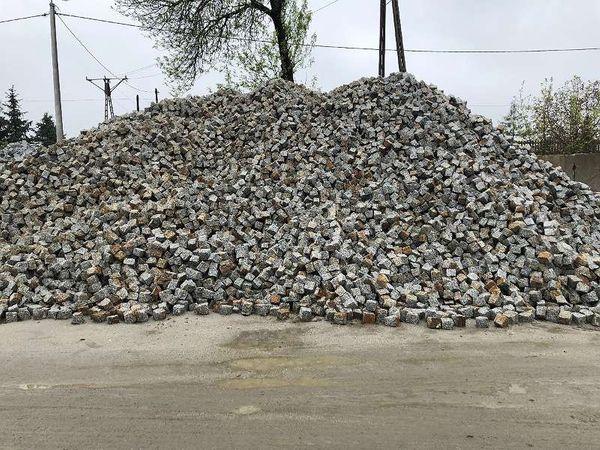 Granit Pflastersteine 9 x 11