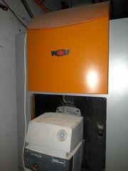 Ölheizung Gussheizkessel WOLF CHU-29 Premio