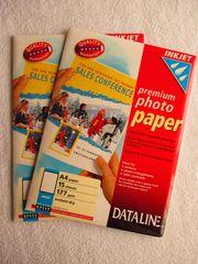 2x Inkjet premium photo paper