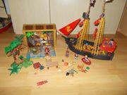 Playmobil Piratenschiff Piraten Truhe Extras