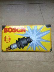 Orig Emailschild Bosch Zündkerze