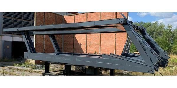 LKW Scherenhebebühne hydraulisch 12to Tragkraft
