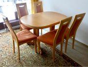 Speisezimmer ERLE massiv Esstisch Tisch