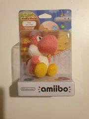 Nintendo Amiibo Garn Yoshi Pink