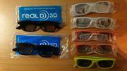 7 3D-Brillen passiv