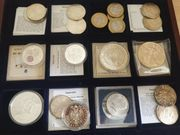 Alte Münzen Münzsammlung