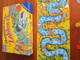 Sonstiges Kinderspielzeug - Ravensburger Abenteuer auf dem Zahlen-Fluss