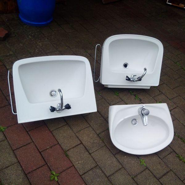 3 Waschbecken im Set 85EUR