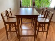 Bartisch inkl 4 Stühlen