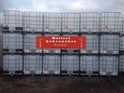 Weiße IBC Container 1000l Wassertank