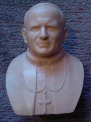 Kunst-Büste Johannes Paul II von