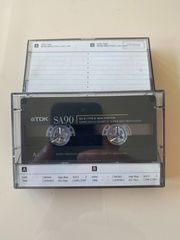 TDK SA90 Kassetten 2 Stück
