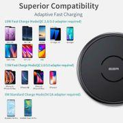 ESR Wireless Charger Metallrahmen rund