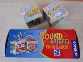 Sonstiges Kinderspielzeug - Soundwürfel Fahrzeuge