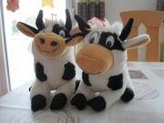 Verkaufe 2 schöne Stofftiere Kühe -