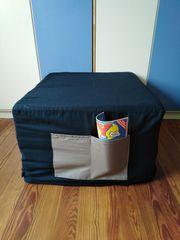 DORMIA Sitzwürfel Gästebett Doppelgästebett Funktionsmöbel