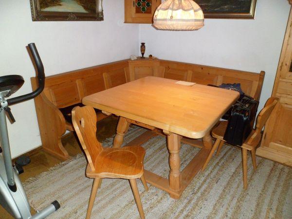Stabiler Tisch, wahlweise » Stilmöbel, Bauernmöbel