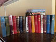 Verschiede Bücher Romane