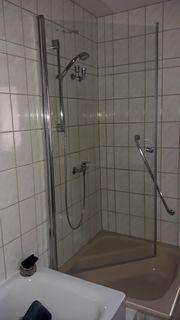 Duschglastür Duschabtrennung Duschkabine Glastüren fast