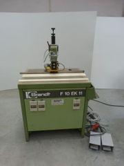 Bündigfräsmaschine Brandt F 10 Kappeinrichtung