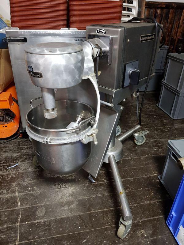 Alexanderwerk UGM Universal Küchenmaschine auf