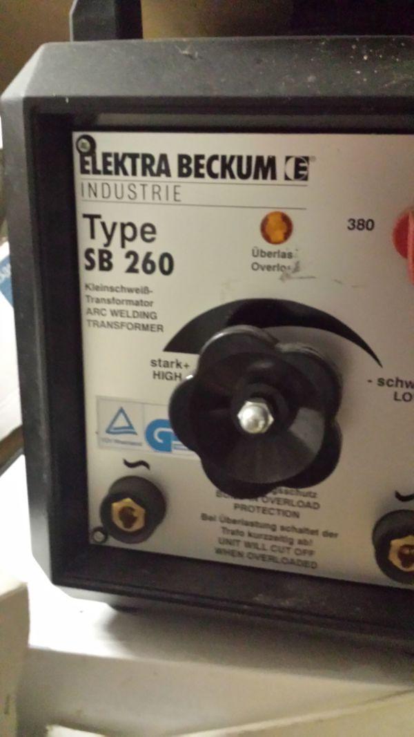 Schweißgerät elektrisch