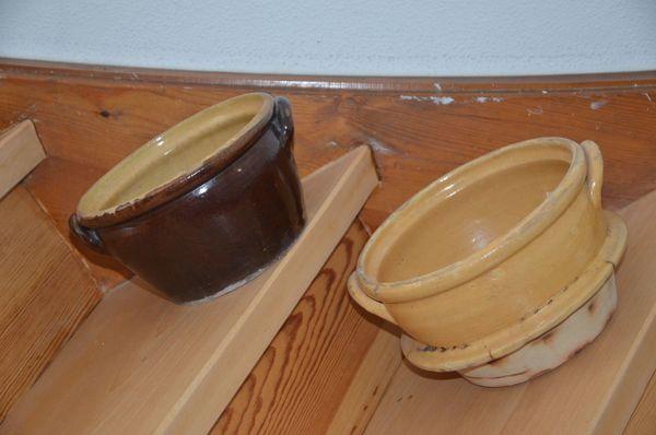 Keramik Töpfe wundervoll dekorativ antik