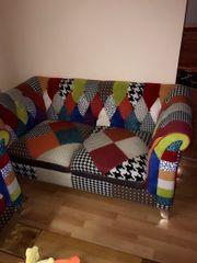 2 Zweisitzer Sofas