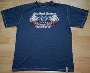 Blaues T-Shirt - Größe 176 - Kurzarm -