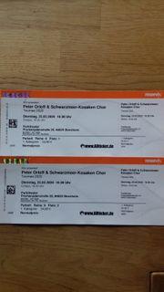2 Tickets Peter Orloff Schwarzmeer-Kosaken