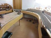 Modelleisenbahnanlage zum weiterbauen